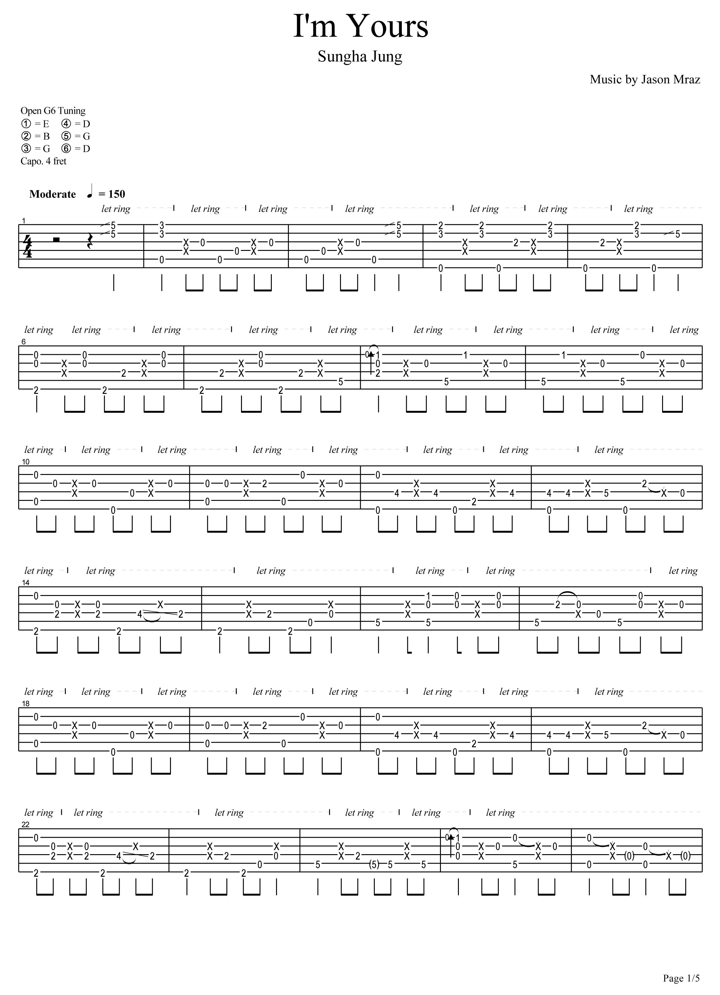00:00/00:00 gtp格式吉他谱下载:  图片(img)格式吉他谱: im_yours
