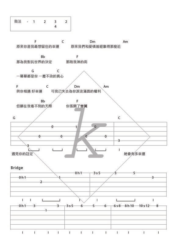 Ukulele u00bb Ukulele Chords Xiao Xing Yun - Music Sheets, Tablature, Chords and Lyrics